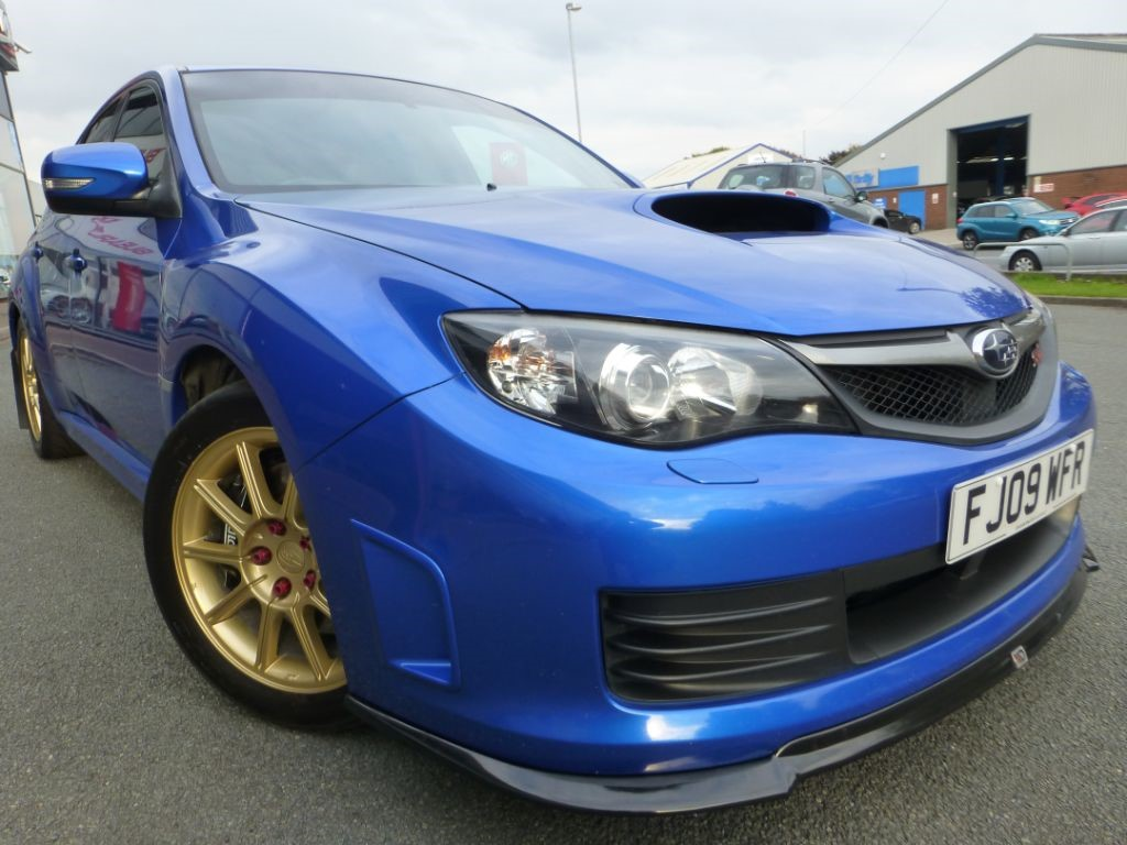 used world rally blue subaru impreza for sale cheshire. Black Bedroom Furniture Sets. Home Design Ideas