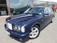 Used Bentley Arnage T + FBSH 11X-STAMPS + SAT-NAV + 167K NEW