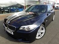 """Used BMW 520d M SPORT TOURING + SAT-NAV + 1 OWNER + 19"""" ALLOYS + FSH"""