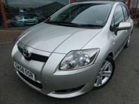 Used Toyota Auris SR 180 + F.S.H + 50 MPG + 2009 + SAT-NAV