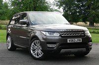 Used Land Rover Range Rover Sport Estate SDV6 HSE 5dr Auto