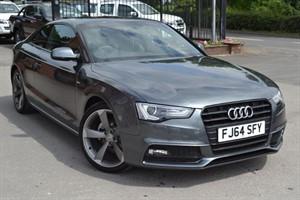 used Audi A5 TDI S LINE BLACK EDITION in macclesfield-cheshire