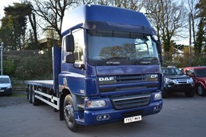 used DAF CF FAS CF 75.310 6x2 Flat  in macclesfield-cheshire