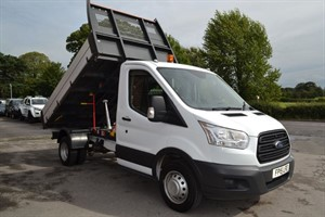 used Ford Transit 350 125ps TWIN WHEEL TIPPER in macclesfield-cheshire
