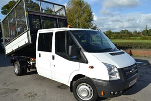 used Ford Transit 350 DRW 125ps TWIN WHEEL CREW CAB in macclesfield-cheshire