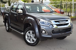 used Isuzu D-Max Utah Vision Auto New Generation Double Cab in macclesfield-cheshire