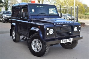 used Land Rover Defender 90 TDCI HARD TOP in macclesfield-cheshire