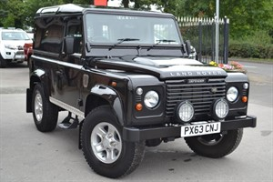 used Land Rover Defender 90 TD HARD TOP NO VAT in macclesfield-cheshire