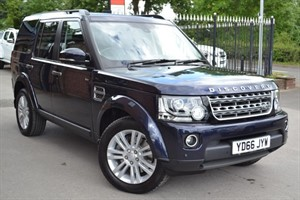 used Land Rover Discovery 4 SDV6 COMMERCIAL SE in macclesfield-cheshire