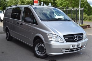 used Mercedes Vito 116 CDI DUALINER CRT/RDT in macclesfield-cheshire