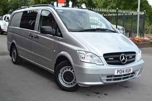 used Mercedes Vito 116 CDI BLUEEFFICIENCY DUALINER CRT/RDT in macclesfield-cheshire
