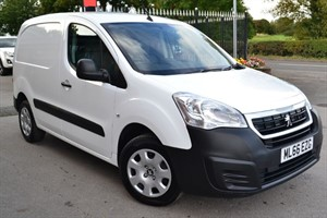 used Peugeot Partner BLUE HDI PROFESSIONAL L1 in macclesfield-cheshire