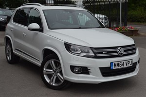 used VW Tiguan R LINE TDI BLUEMOTION TECH 4MOTION DSG in macclesfield-cheshire