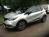 Used Renault Captur dCi 90 Dynamique S MediaNav - Silver with Black Roof 4+ Warranty