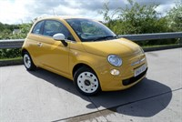 Used Fiat 500 COLOUR THERAPY  Hartwell Supplied Vehicle From New, Full Service History, A