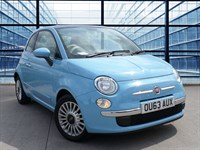 Used Fiat 500 LOUNGE  Alloy Wheels, Air Congitioning, Fog Lights, Blue And Me Bluetooth S