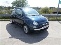Used Fiat 500 LOUNGE Hartwell Demonstrator Vehicle, Sunroof, Air Conditioning, Hill Hold,