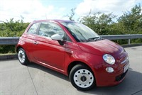 Used Fiat 500 COLOUR THERAPY  Air Conditioning, 14 Inch White Wheel Covers, Remote Centra
