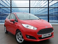 Used Ford Fiesta ZETEC  £20 RFL, Ford 'MyKey' Programmable Key System, Alloy Wheels, F