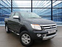 Used Ford Ranger LIMITED 4X4 DCB TDCI  Sat Nav, 17 Inch Alloy Wheels, Climate Control, Leath