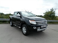 Used Ford Ranger Limited (TDCi 150)  Sat Nav With Reverse Camera, Leather Seats, 5* Euro N-C