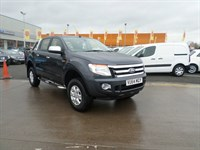 Used Ford Ranger XLT 2.2 4X4 DCB TDCI Sports Bars And Roof Rails, Alloy Wheels, Air Conditio
