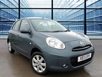 Used Nissan Micra ACENTA  £30 RFL, 56.5 MPG Combined, Air Conditioning, Power Steering,