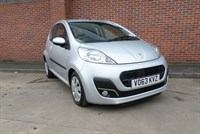 Used Peugeot 107 Active 1 Owner Hartwell Vehicle, ??20 RFL, Power Steering, Driver, Passenge