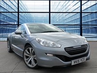 Used Peugeot RCZ HDI GT 19 Inch Technical Alloy Wheels, Leather Heated Seats, Cli