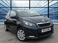 Used Peugeot 108 ACTIVE TOP OPEN Model, 68.9 MPG Combined, £FREE RFL, Air Conditi
