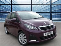 Used Peugeot 108 ACTIVE TOP Open Model, Air Conditioning, 7 Inch Touchcreen, DAB Radio
