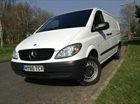 Used Mercedes Vito 109 LWB 2.2CDI 95BHP 2 Merc-Benz Owners, Full Service History and Ply