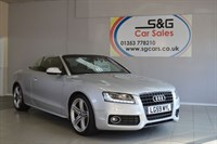 used Audi A5 TFSI S LINE cabriolet in ely-cambridgeshire