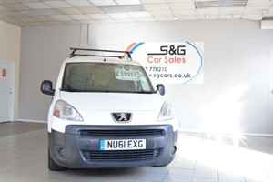 Car of the week - Peugeot Partner HDI S L1 850 - Only £3,995 + VAT
