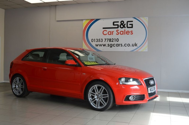 used Audi A3 TDI S LINE diesel in ely-cambridgeshire