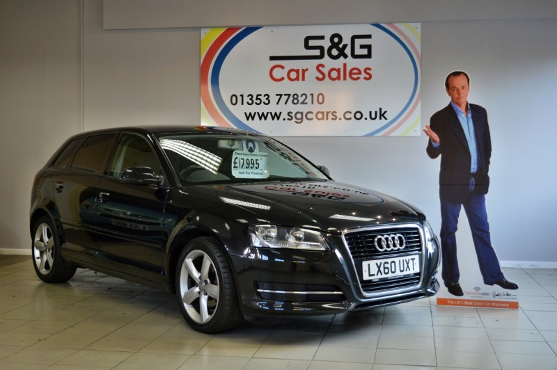 used Audi A3 SPORTBACK MPI TECHNIK in ely-cambridgeshire