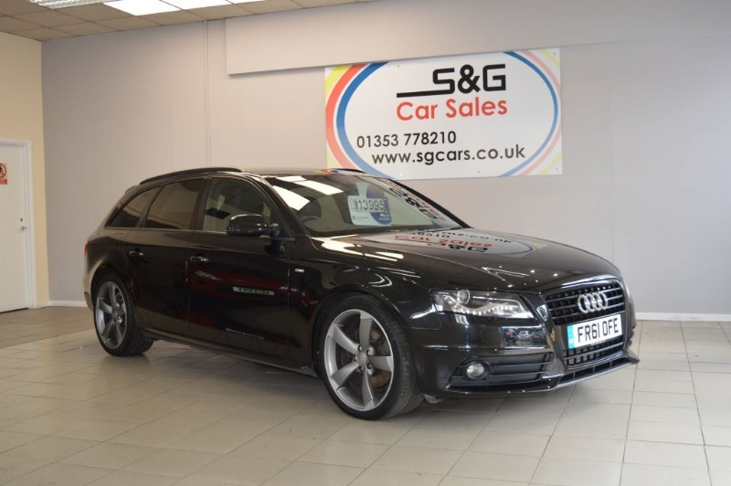 used Audi A4 Avant TDI S LINE BLACK EDITION in ely-cambridgeshire