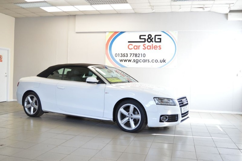 used Audi A5 TDI S LINE DIESEL in ely-cambridgeshire