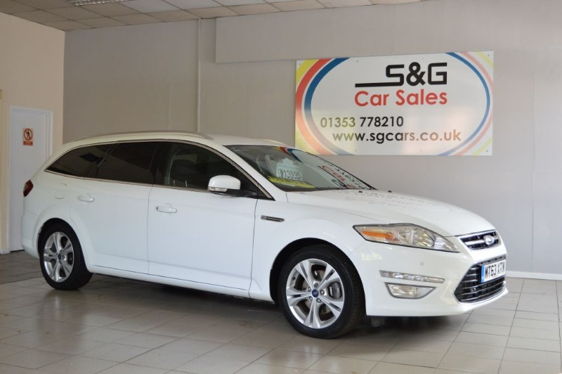 used Ford Mondeo TITANIUM X BUSINESS EDITION TDCI in ely-cambridgeshire
