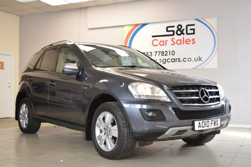 used Mercedes ML300 CDI BLUEEFFICIENCY SE in ely-cambridgeshire