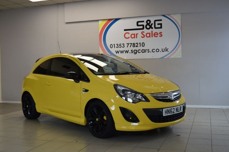 used Vauxhall Corsa LIMITED EDITION 1.2 in ely-cambridgeshire