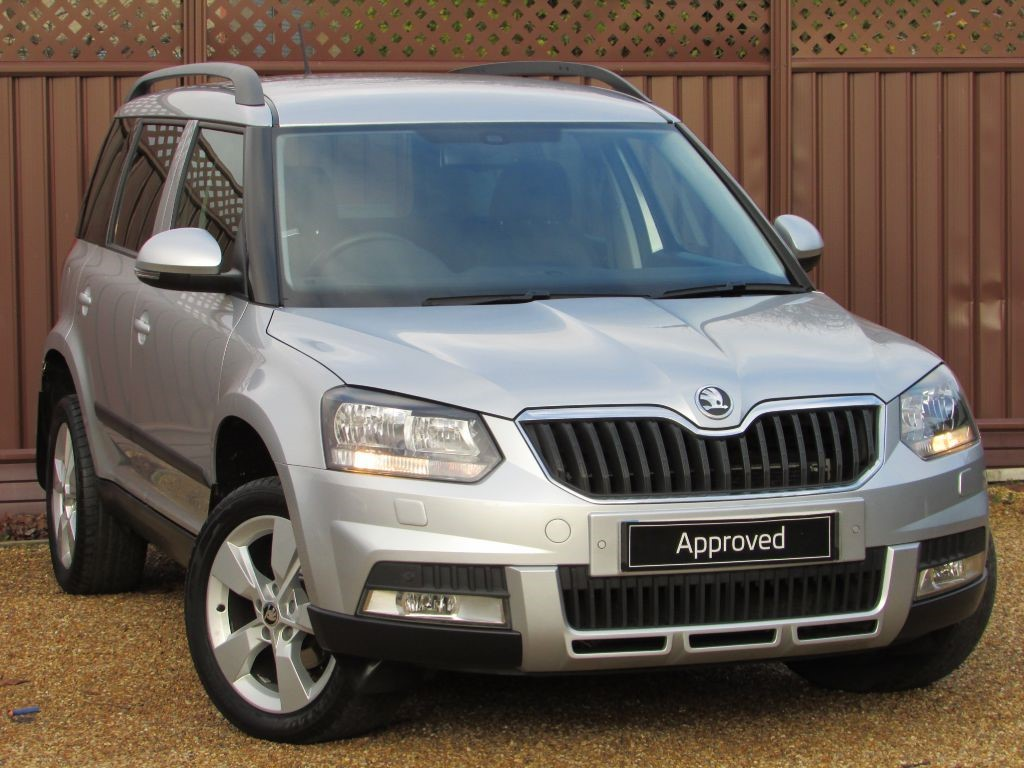 used brilliant silver metallic skoda yeti for sale cambridgeshire. Black Bedroom Furniture Sets. Home Design Ideas