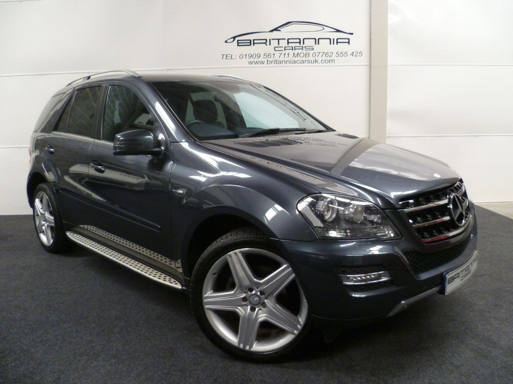 usedmercedes m class ml350 cdi blueefficiency grand edition with amg alloys for sale in sheffield. Black Bedroom Furniture Sets. Home Design Ideas