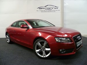 used Audi A5 TDI QUATTRO SPORT RARE GARNET RED in sheffield-for-sale