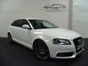 used Audi  A3 SPORTBACK TDI S LINE SPECIAL BLACK EDITION WITH NAV & BOSE in sheffield-for-sale
