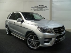 used Mercedes ML350 BLUETEC SPORT AMG HUGE SPEC WITH REAR ENTERTAINMENT in sheffield-for-sale