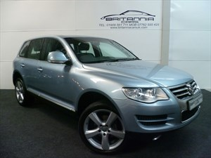 used VW Touareg V6 SE TDI ONE OWNER FROM NEW WITH NAPPA in sheffield-for-sale
