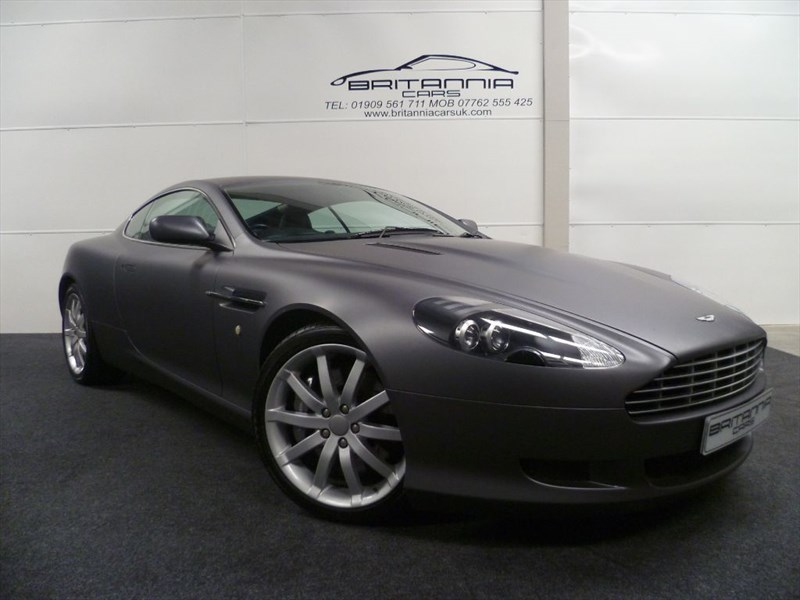 used Aston Martin DB9 V12 NEW ENGINE FITTED BY ASTON MARTIN in sheffield-for-sale