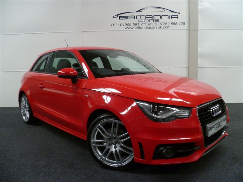 used Audi A1 TDI S LINE GREAT SPEC in sheffield-for-sale