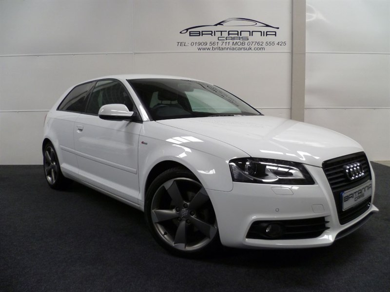 used Audi A3 TDI S LINE SPECIAL EDITION BLACK EDITION  WITH GREAT SPEC in sheffield-for-sale